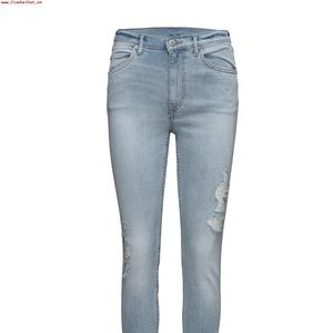 """Cheap Monday """"Over my Dead Body"""" Jeans"""